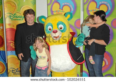 Sean Astin and family at the Disney ABC Television Group Summer Press Junket, ABC Studios, Burbank, CA. 05-15-10