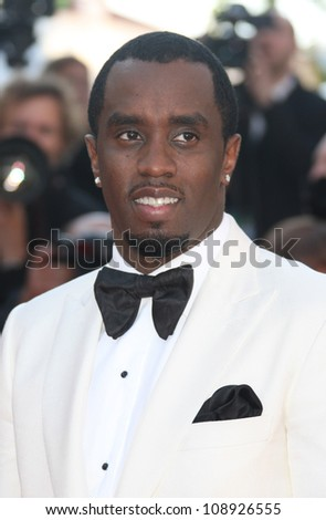 Sean Combs ak P.Diddy arriving for the Killing them softly premiere, Cannes Film Festival. 22/05/2012 Picture by: Henry Harris / Featureflash - stock photo