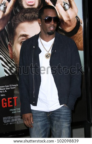 "Sean Combs at the ""Get Him To The Greek"" Los Angeles Premiere, Greek Theater, Los Angeles, CA. 05-25-10"