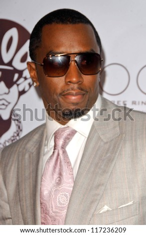 "Sean ""P.Diddy"" Combs at ""Jermaine Dupri's Grammy Invasion"" Party, Pacific Theater, Hollywood, CA. 02-10-07"