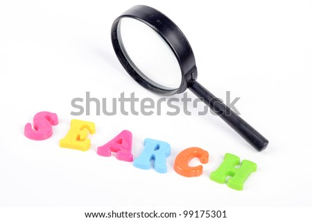 Search - stock photo