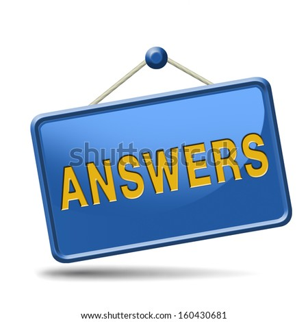 search and find answers to solve problems answer button answer icon search answer and discover truth