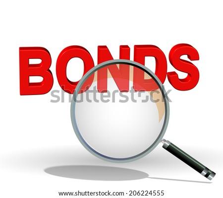 search bonds - stock photo