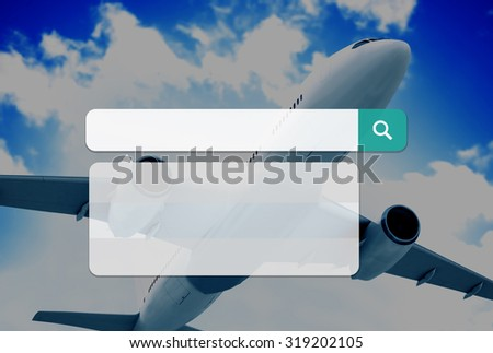 Search Box Technology Internet Browse Browsing Online Concept - stock photo