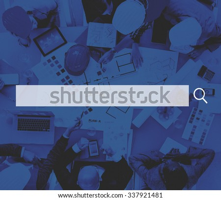 Search Box Web Online Technology Internet Website Concept - stock photo