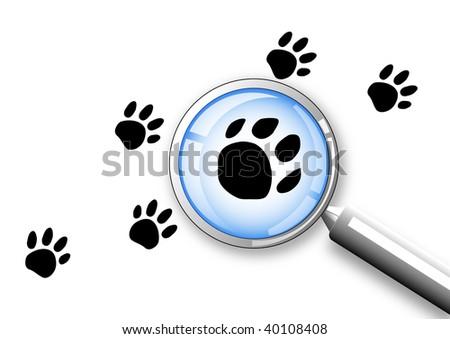 search concept clip-art - stock photo