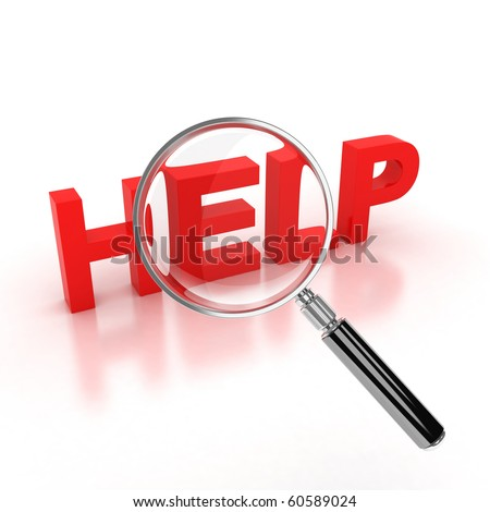 search for help icon - stock photo
