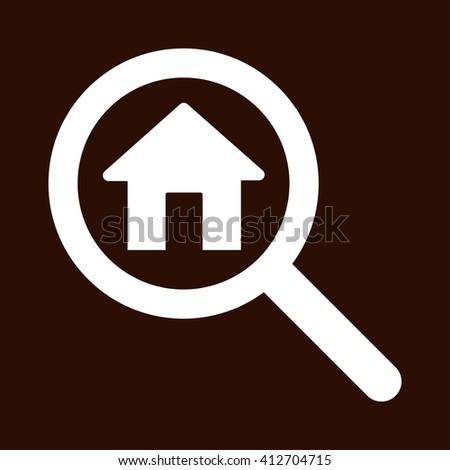Search house icon, Search house icon art, Search house icon jpg, Search house icon web, Search house icon flat, Search house icon logo, Search house icon sign, Search house icon design, Search house - stock photo