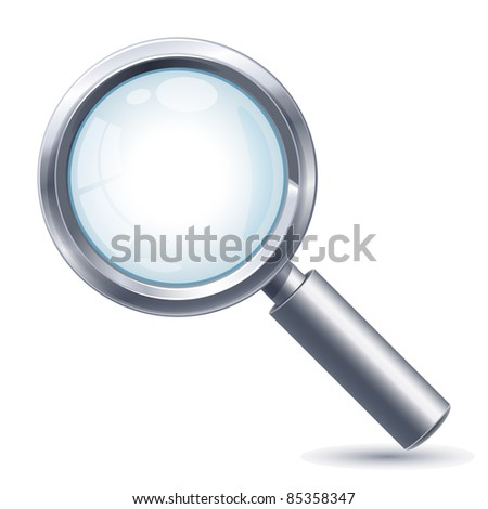 Search icon - raster version - stock photo