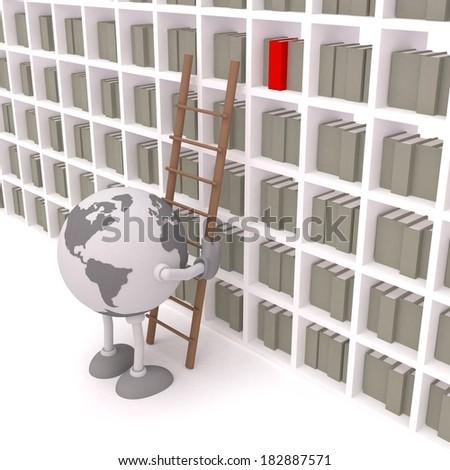 Search library find / Find / Find library / Library search / Find library / Library engine / Internet library - stock photo