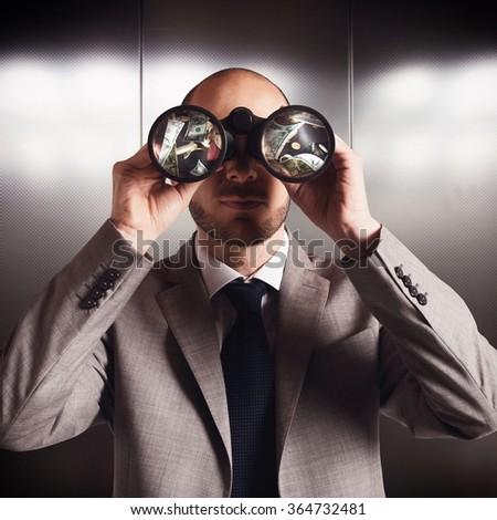 Search money - stock photo