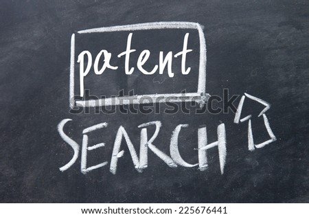search patent interface on blackboard
