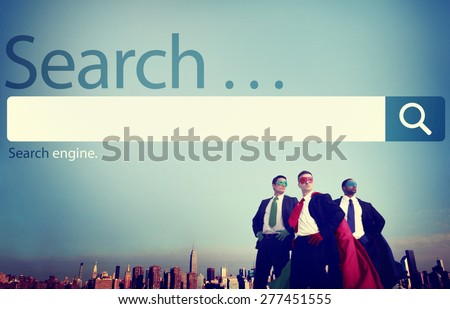Search Seo Online Internet Browsing Web Concept - stock photo