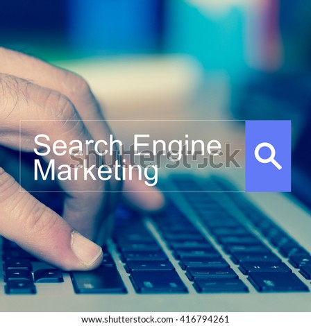 SEARCH WEBSITE INTERNET SEARCHING SEARCH ENGINE MARKETING CONCEPT - stock photo