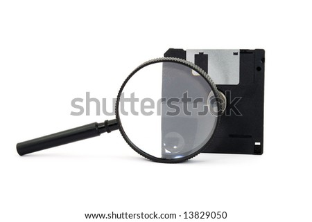 searching digital data concept isolated - stock photo