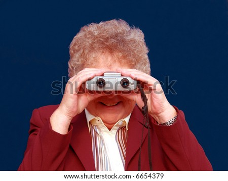 Searching for a bargain at the sales - stock photo