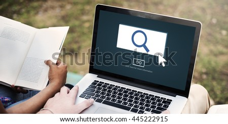 Searching Looking For Research Finding Concept - stock photo