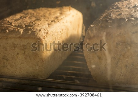searing bread in the oven