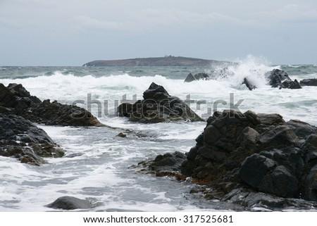 seascape 1 - stock photo