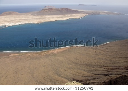 Seascape at Lanzarote Island, Spain