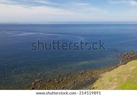 seashore - stock photo