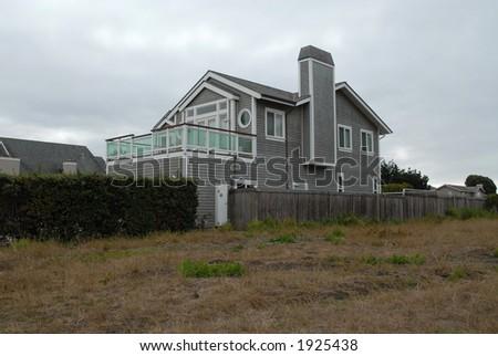 Seaside home, Half Moon Bay, California - stock photo