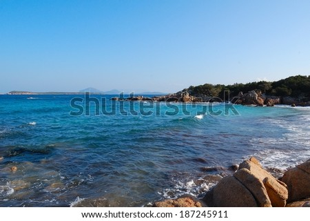 Seaside Mediterraneo - stock photo