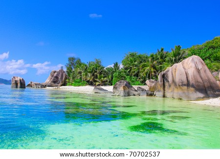 Season Peace Beach - stock photo