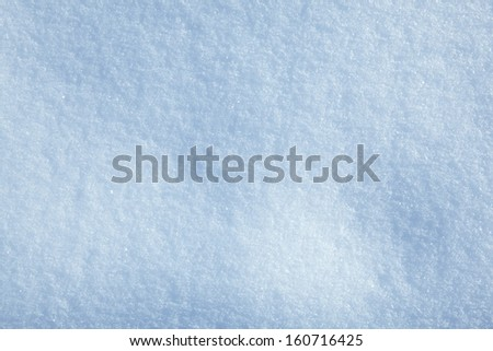 Seasonal background of fresh snow  - stock photo
