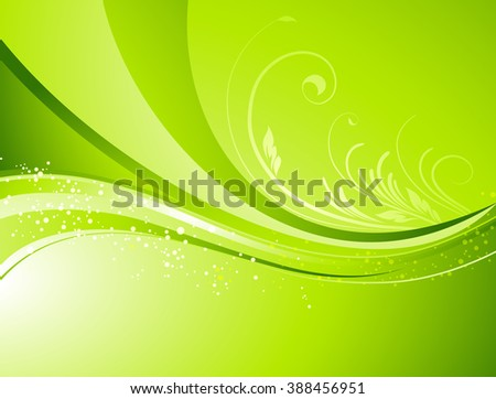 Seasonal  nature abstract background. Eco background. floral pattern. Green color. Spring, summer seasons - stock photo