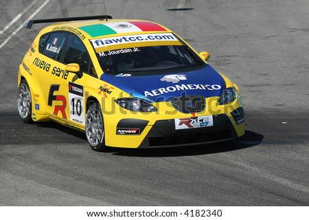 seat race car in boavista circuit