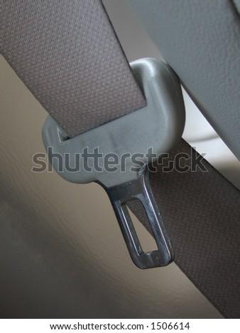 Seatbelt - stock photo