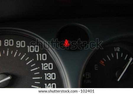 Seatbelt Indicator - stock photo