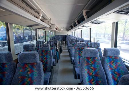 Inside Luxury Tour Bus Seats Inside To...