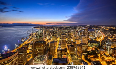 Seattle City - stock photo