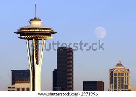 Seattle City - stock photo