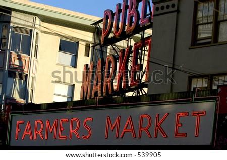 Seattle Pike Place Market - stock photo
