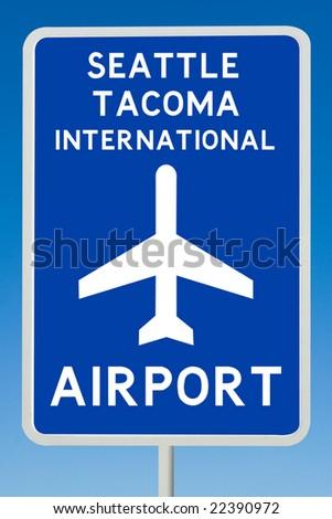 Seattle Tacoma International Airport - stock photo