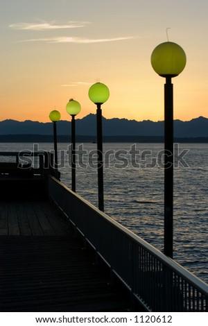 Seattle waterfront - stock photo