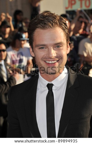 "Sebastian Stan at the premiere of his new movie ""Captain America: The First Avenger"" at the El Capitan Theatre, Hollywood. July 19, 2011  Los Angeles, CA Picture: Paul Smith / Featureflash"