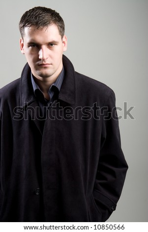 Secret agent - stock photo