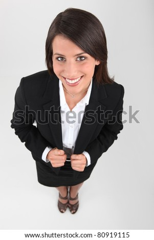 secretary - stock photo