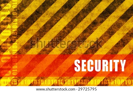 Security Abstract Background Warning Red as Alert - stock photo