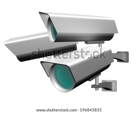 Security camera equipment for video surveillance and property protection
