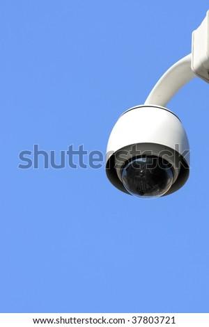 security camera on street - stock photo