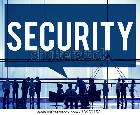 Security Data Protection Privacy Policy Concept - stock photo