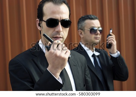 Celebrity security detail for vip