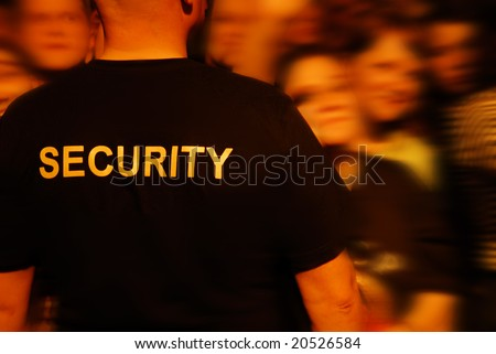 security label on a t-shirt - stock photo