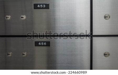 Security Safe Locker In The Room