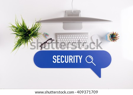 SECURITY Search Find Web Online Technology Internet Website Concept - stock photo